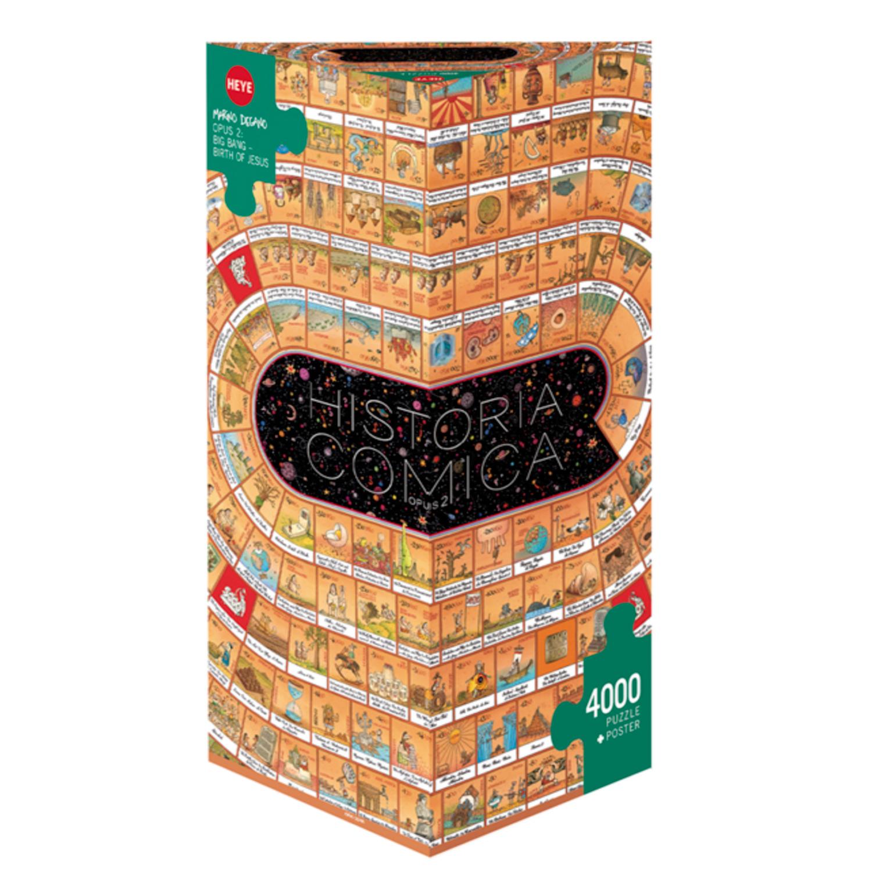 Cuy Games - 4000 PIEZAS - HISTORIA COMICA - OPUS 2 -