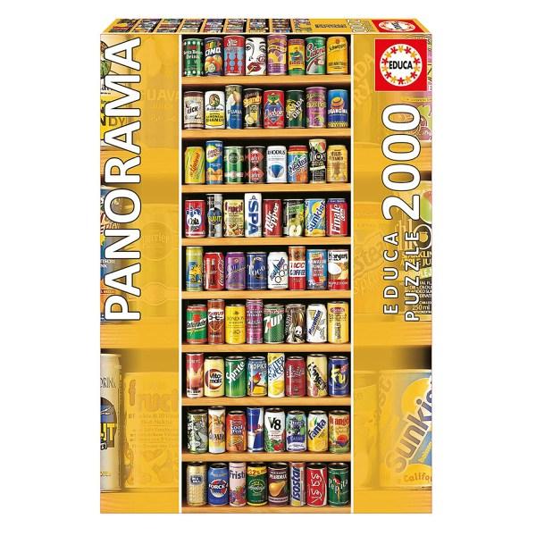 Cuy Games - 2000 PIEZAS - LATA SOBRE LATA -