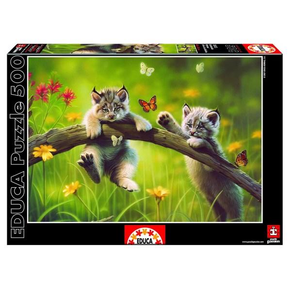 Cuy Games - 500 PIEZAS - GATITOLANDIA -