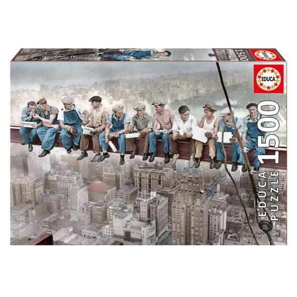 Cuy Games - 1500 PIEZAS - ALMUERZO EN NUEVA YORK -