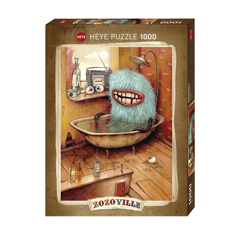 Cuy Games - 1000 PIEZAS - ZOZOVILLE - BATHTUB -
