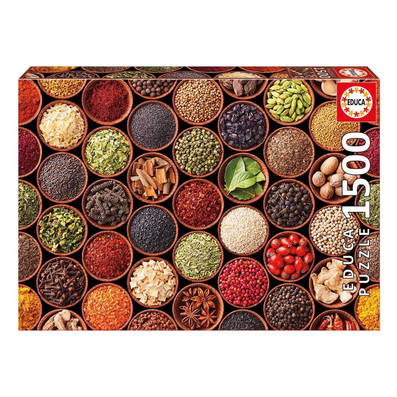 Cuy Games - 1500 PIEZAS - ESPECIAS Y CONDIMENTOS -