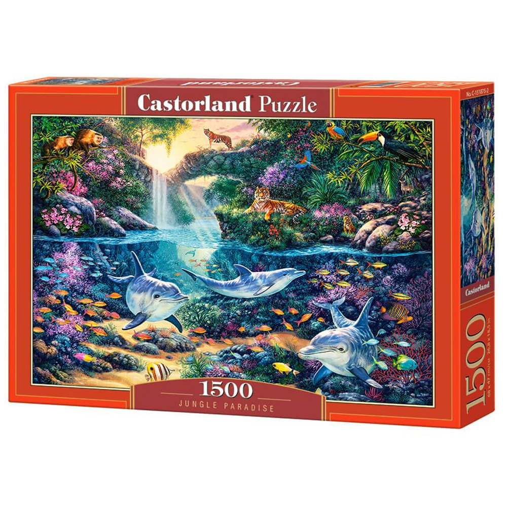 Cuy Games - 1500 PIEZAS - JUNGLE PARADISE -