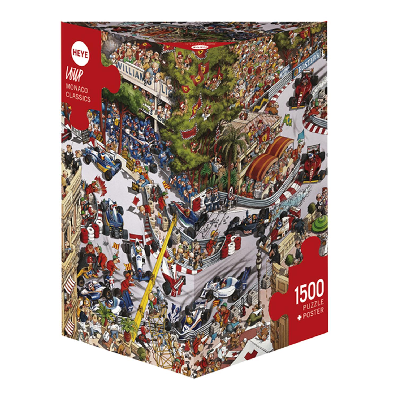 Cuy Games - 1500 PIEZAS - MONACO CLASSICS -