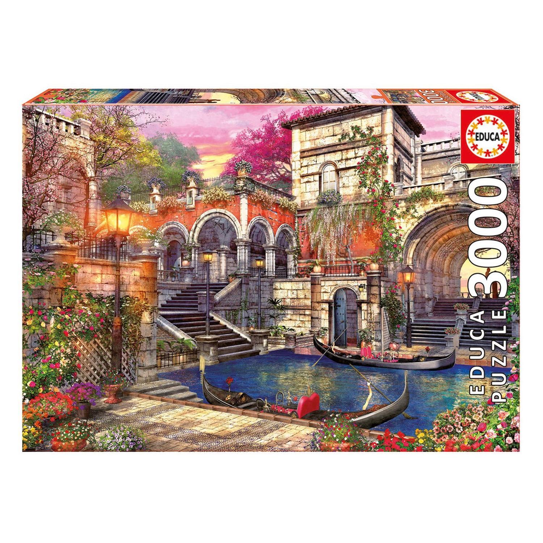 Cuy Games - 3000 PIEZAS - ROMANCE EN VENECIA -