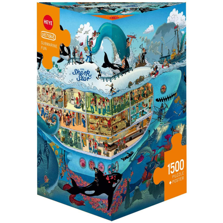 Cuy Games - 1500 PIEZAS - SUBMARINE FUN -