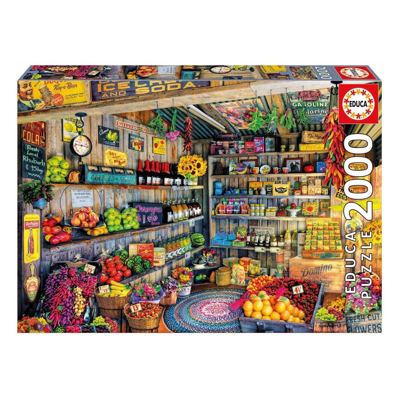 Cuy Games - 2000 PIEZAS - TIENDA DE COMESTIBLES -