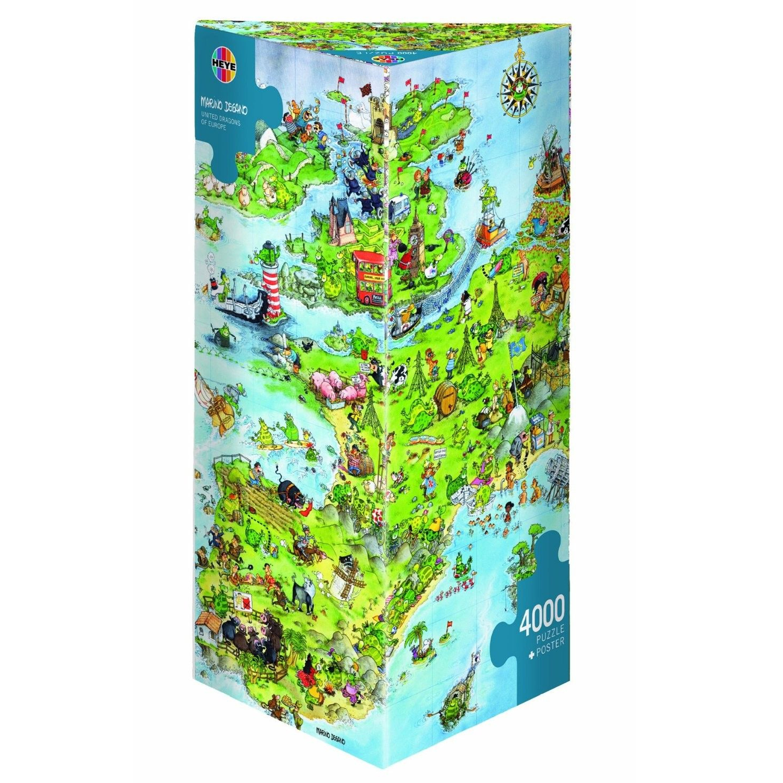 Cuy Games - 4000 PIEZAS - UNITED DRAGONS OF EUROPE -
