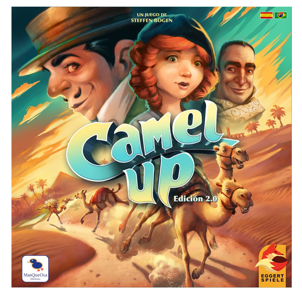 Cuy Games - CAMEL UP 2.0 -