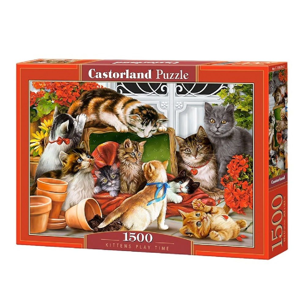 Cuy Games - 1500 PIEZAS - KITTENS PLAY TIME -