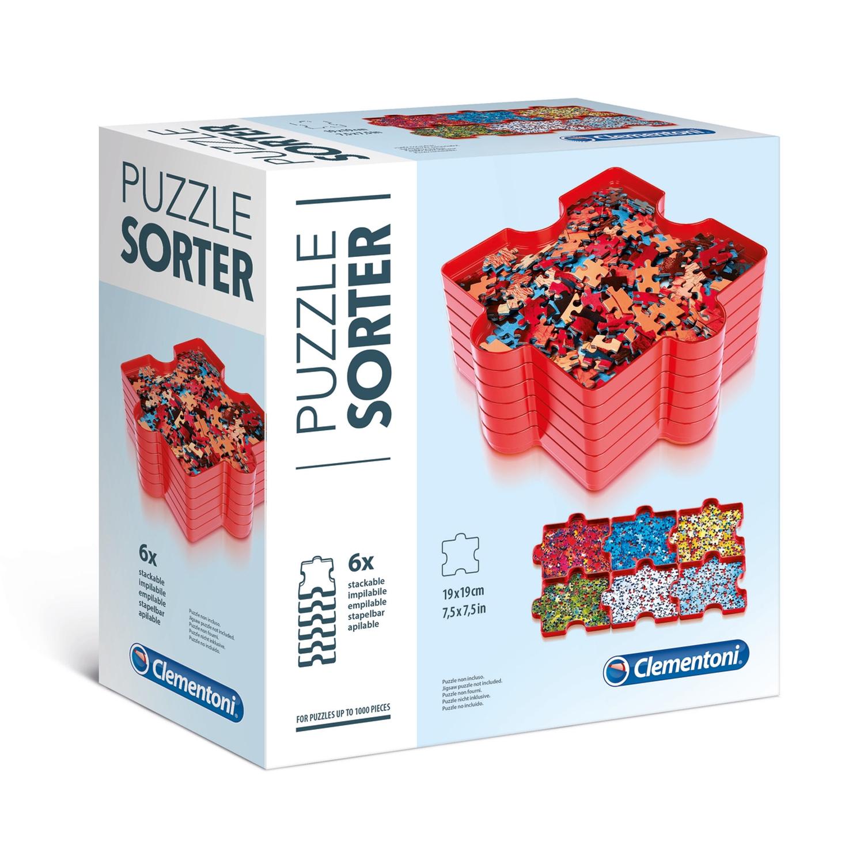 Cuy Games - PUZZLE SORTER CLEMENTONI -