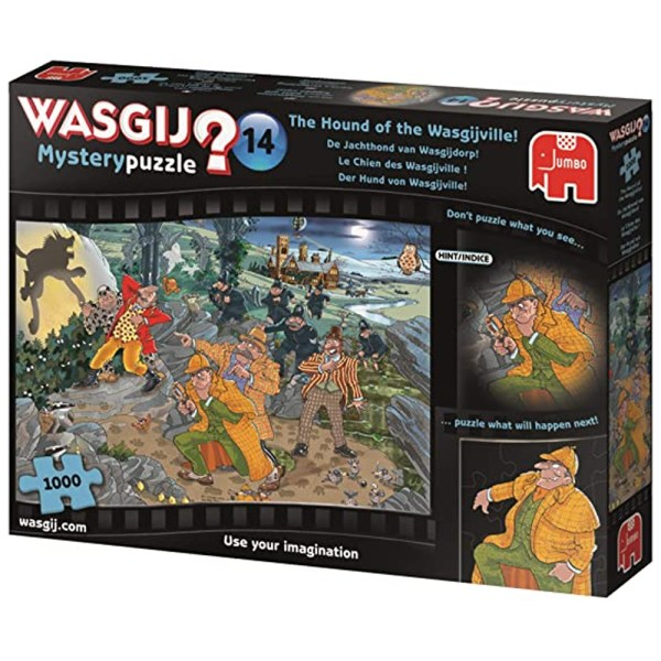 Cuy Games - 1000 PIEZAS - THE HOUND OF THE WASGIJVILLE! -