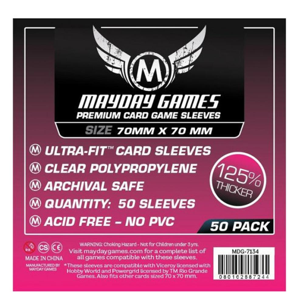 Cuy Games - FUNDA 70MM X 70MM 50PACK PREMIUM -