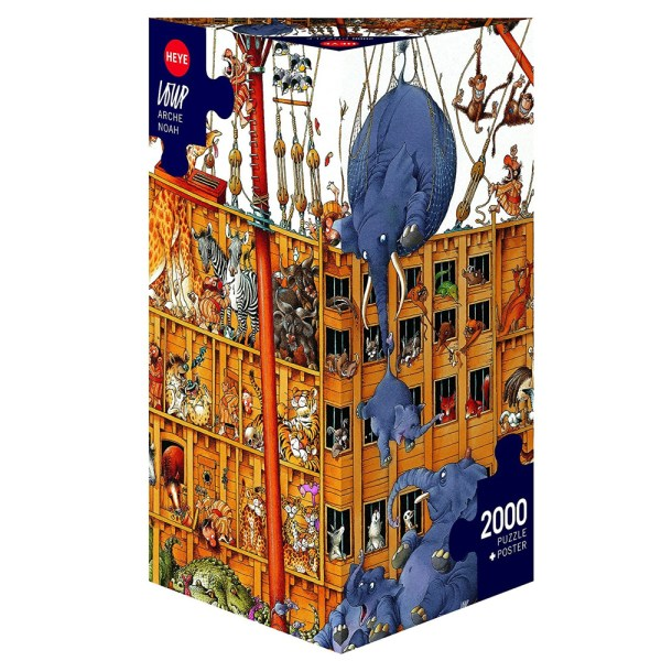 Cuy Games - 2000 PIEZAS - ARCHE NOAH -