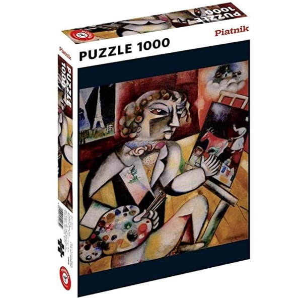 Cuy Games - 1000 PIEZAS - SELF PORTRAIT WITH SEVEN FINGERS -