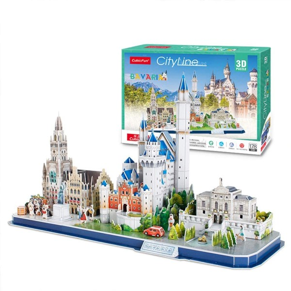 Cuy Games - CF - 178 PIEZAS - BAVARIA 3D (CITYLINE) -