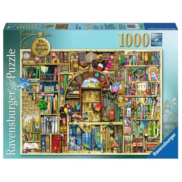 Cuy Games - 1000 PIEZAS - BIBLIOTECA MAGICA -