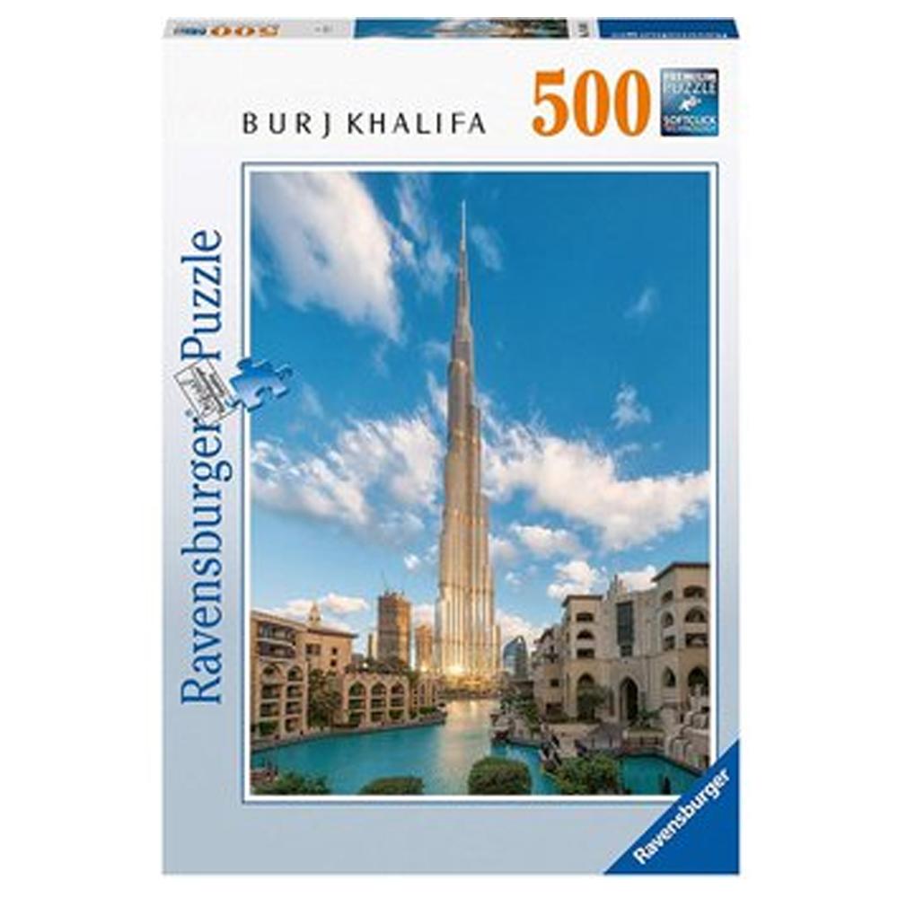 Cuy Games - 500 PIEZAS - BURJ KHALIFA, DUBAI -