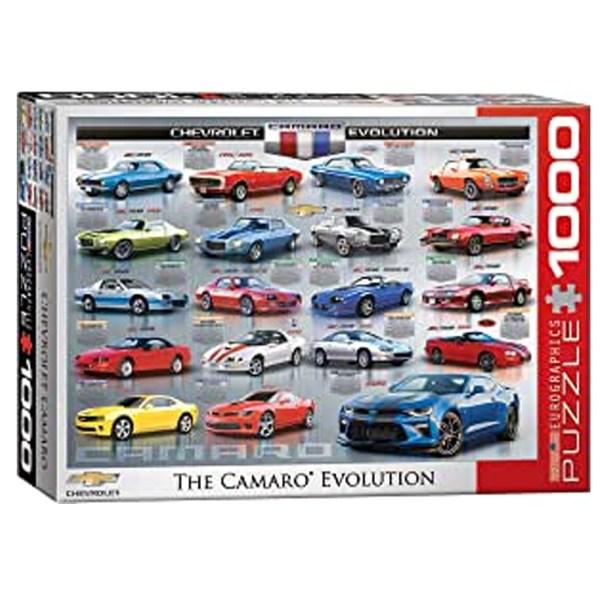Cuy Games - 1000 PIEZAS - THE CAMARO EVOLUTION -