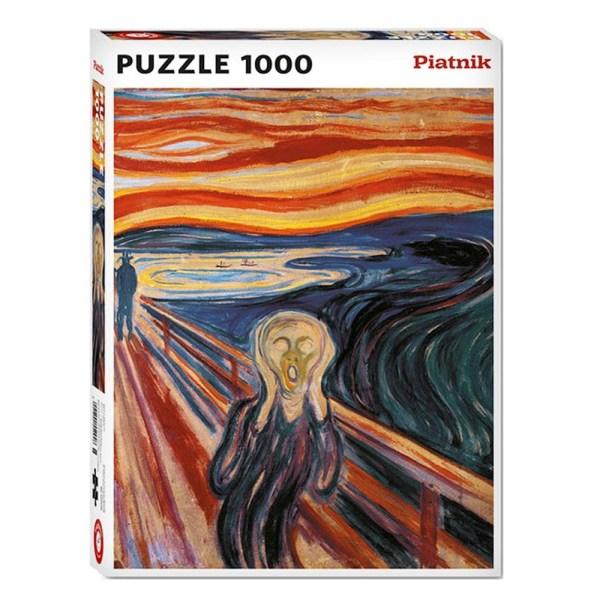 1000 PIEZAS – MUNCH, THE SCREAM (EL GRITO)