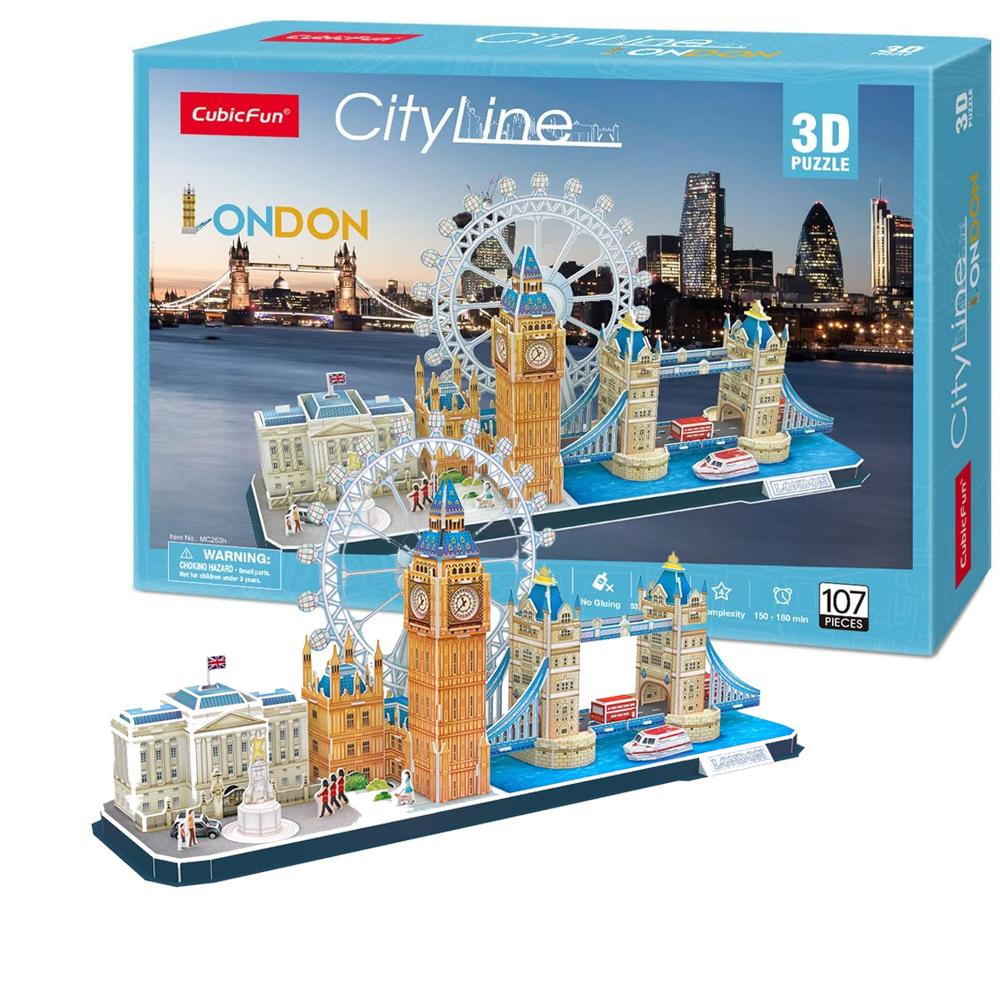 Cuy Games - CF - 107 PIEZAS - LONDON/LONDRES 3D (CITYLINE) -