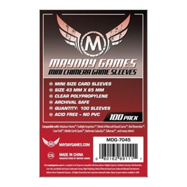 Cuy Games - FUNDA 43MMX65MM MINI CHIMERA 50PACK -