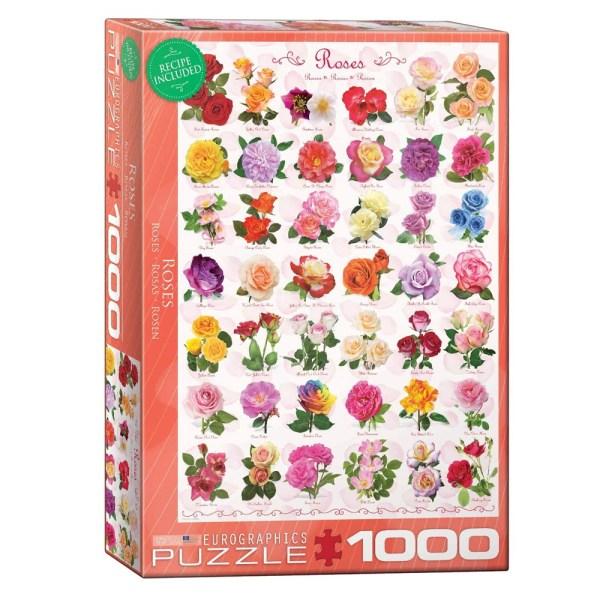 Cuy Games - 1000 PIEZAS - ROSAS -