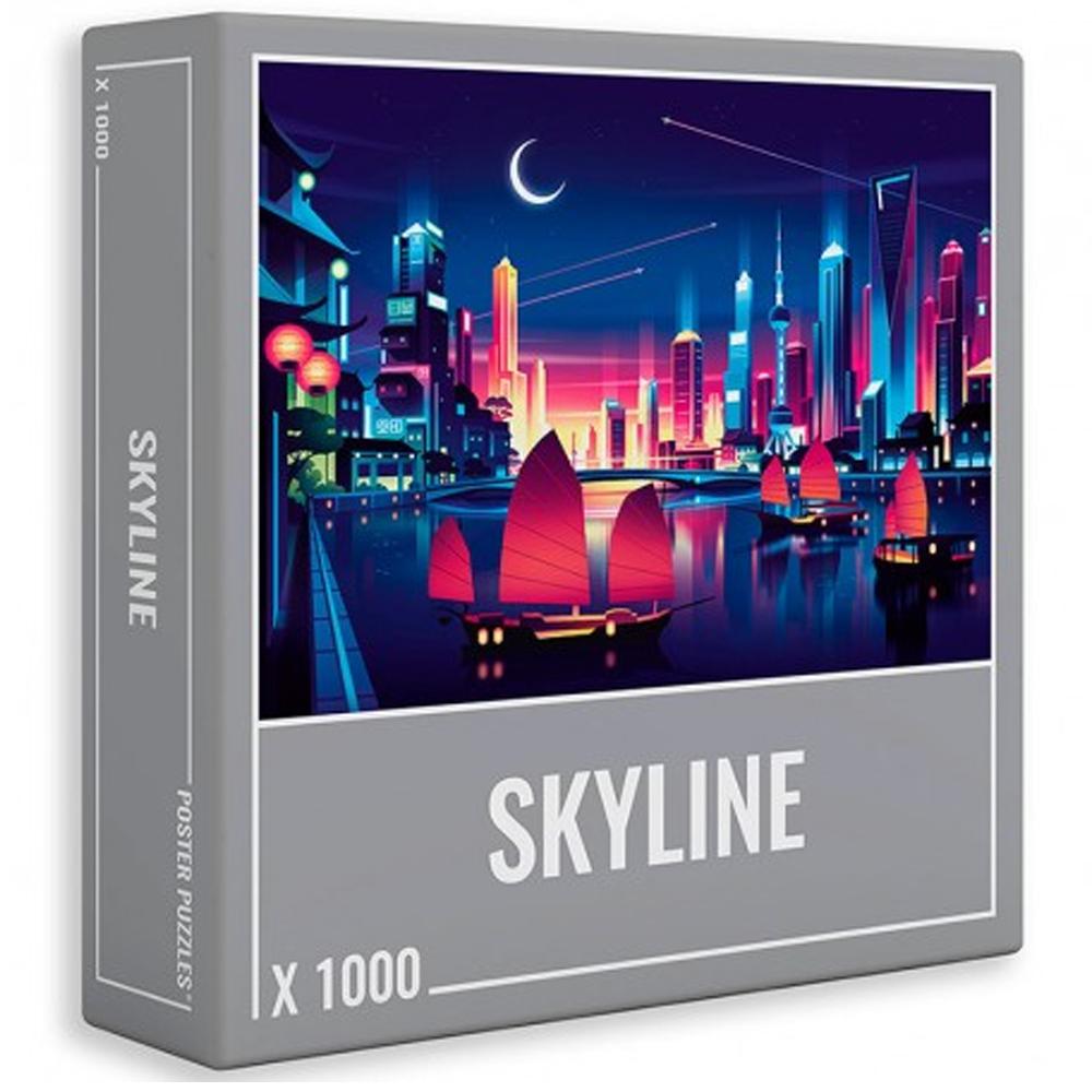 Cuy Games - 1000 PIEZAS - SKYLINE -