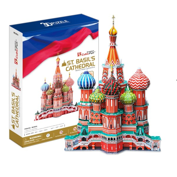 Cuy Games - CF - XL - ST. BASIL'S CATHEDRAL -