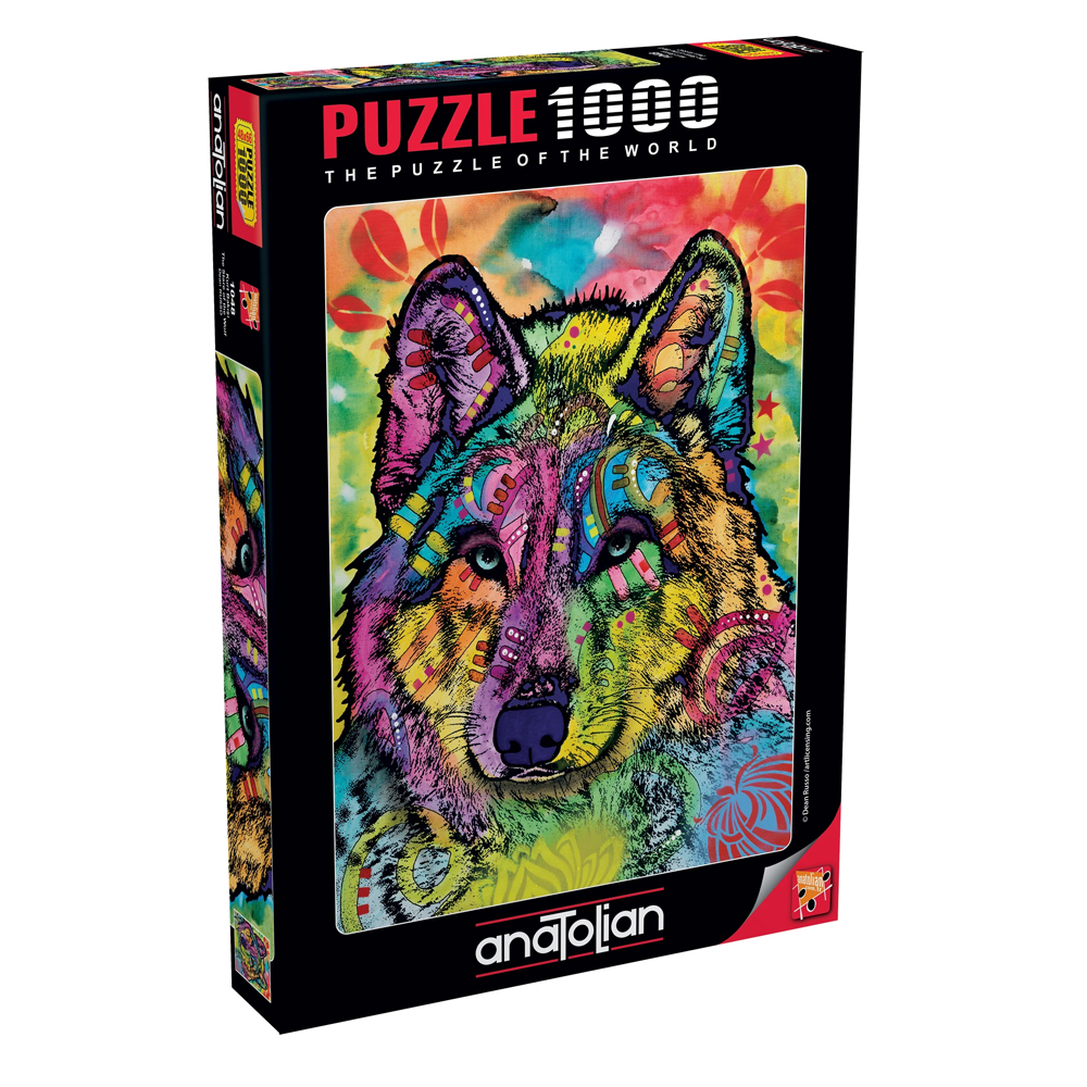 Cuy Games - 1000 PIEZAS - THE STARE OF THE WOLF -