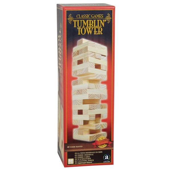 Cuy Games - TUMBLIN' TOWER - JENGA -