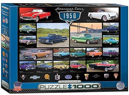 1000 PIEZAS – AMERICAN CARS