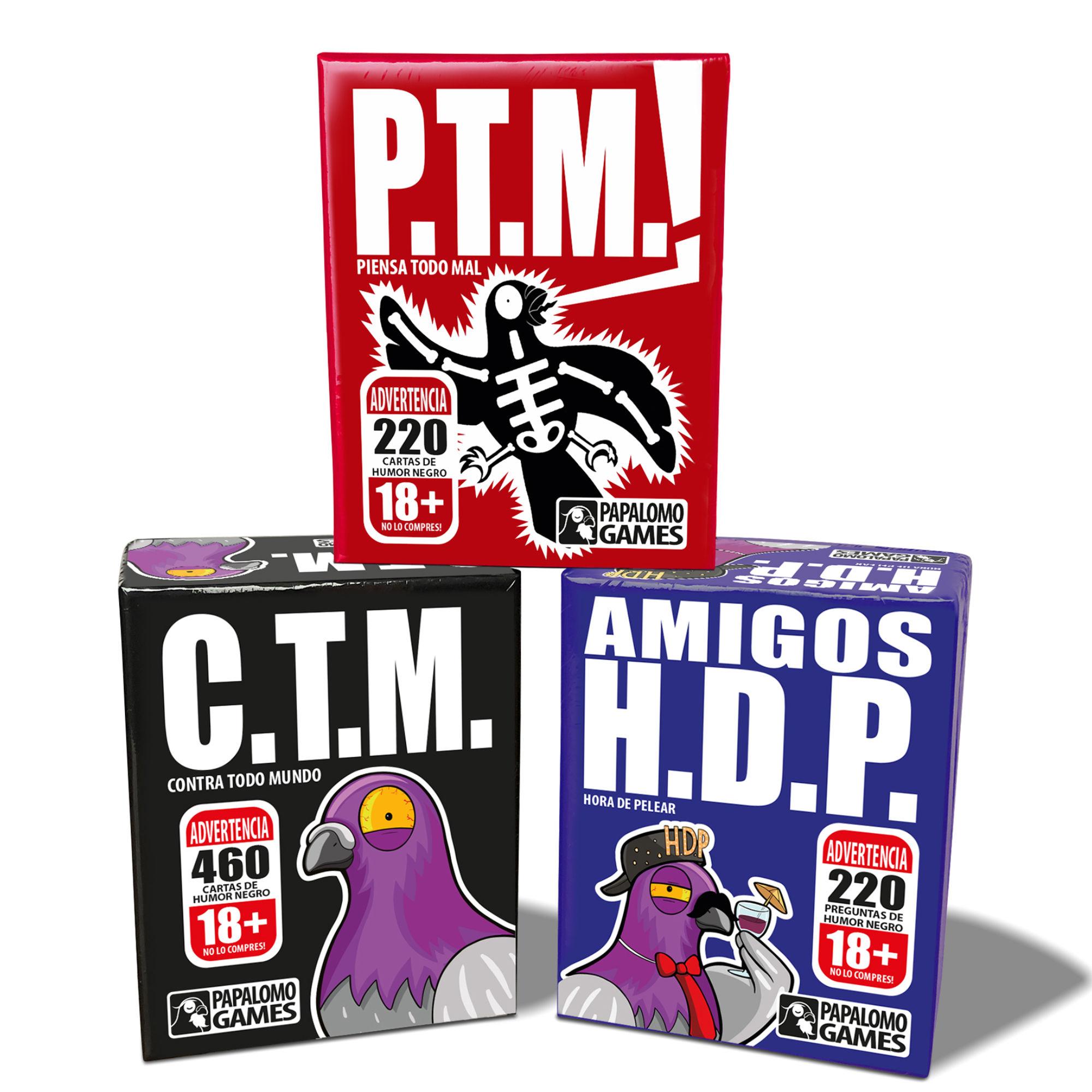 Cuy Games - Pack Papalomo   P.T.M. + H.D.P. + C.T.M. -