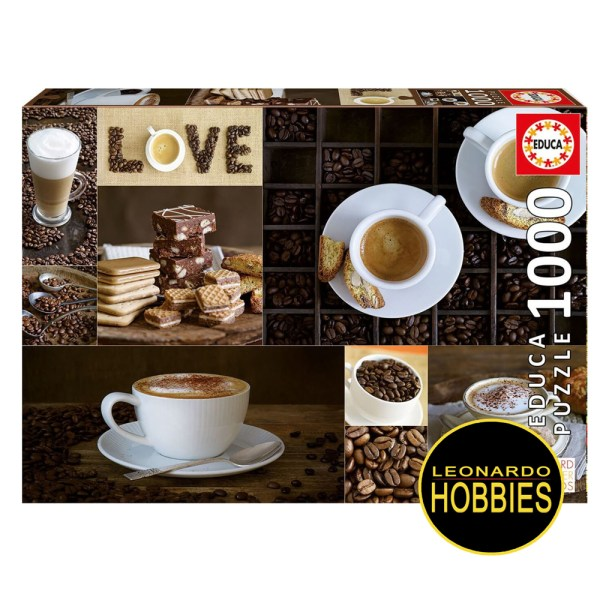 Cuy Games - 1000 PIEZAS - CAFE -