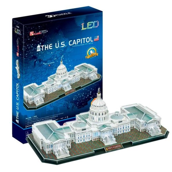 Cuy Games - CF - 150 PIEZAS - THE U.S CAPITOL LED -
