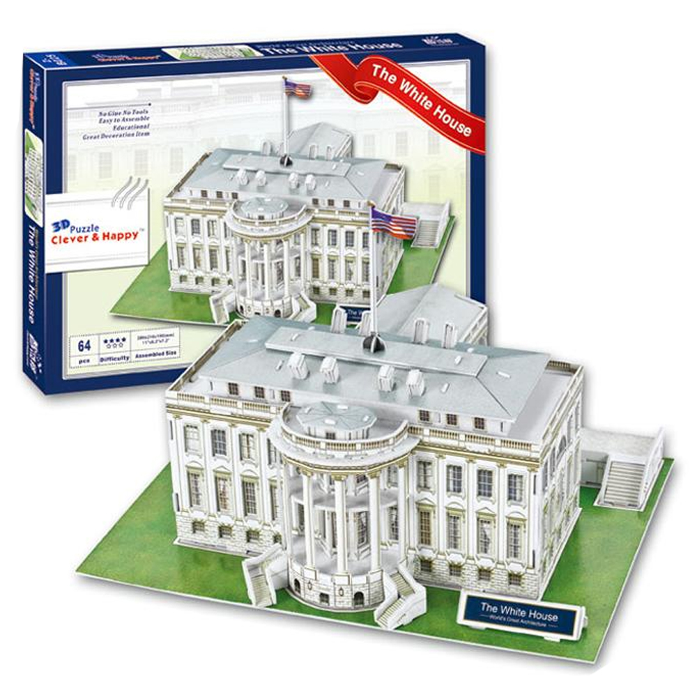 Cuy Games - C&H - THE WHITE HOUSE - CASA BLANCA -