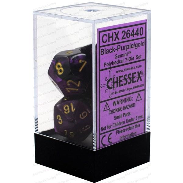 Cuy Games - CHESSEX DADOS MORADOS -