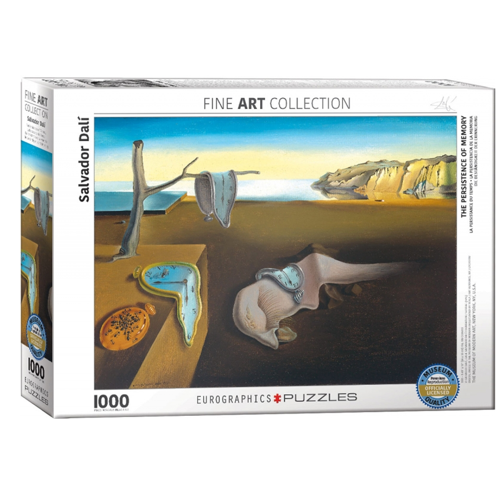 Cuy Games - 1000 PIEZAS - THE PERSISTENCE OF MEMORY-DALI -