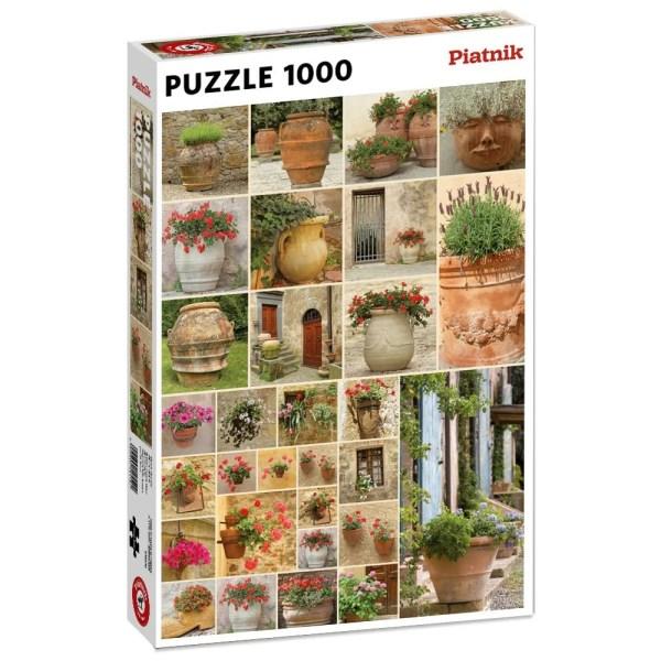 1000 PIEZAS – FLOWER POTS