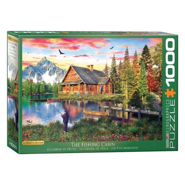 Cuy Games - 1000 PIEZAS - THE FISHING COTTAGE BY DAVISON -
