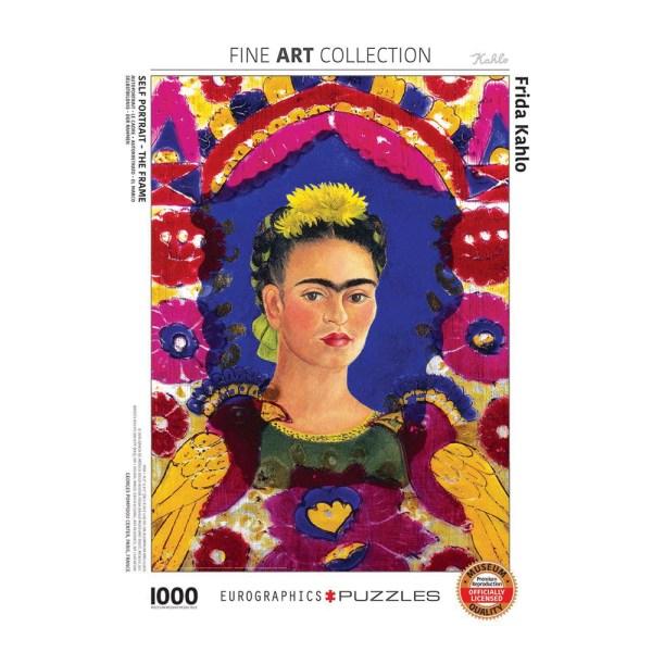 1000 PIEZAS – SELF PORTRAIT FRAME BY FRIDA K