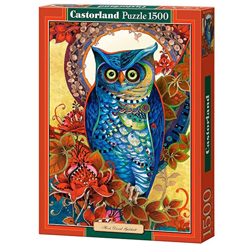 Cuy Games - 1500 PIEZAS - HOOT, DAVID GALCHUTT -