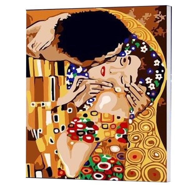 CUADRO PINTURA AL OLEO – KISS – KLIMT 40X50