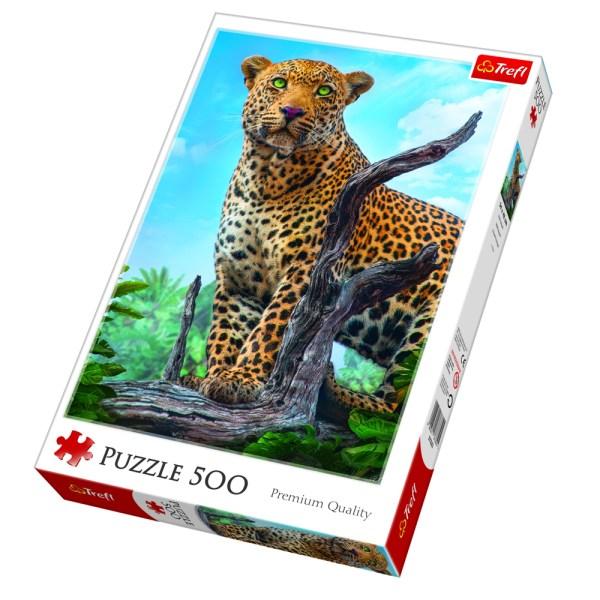 Cuy Games - 500 PIEZAS - LEOPARDO -