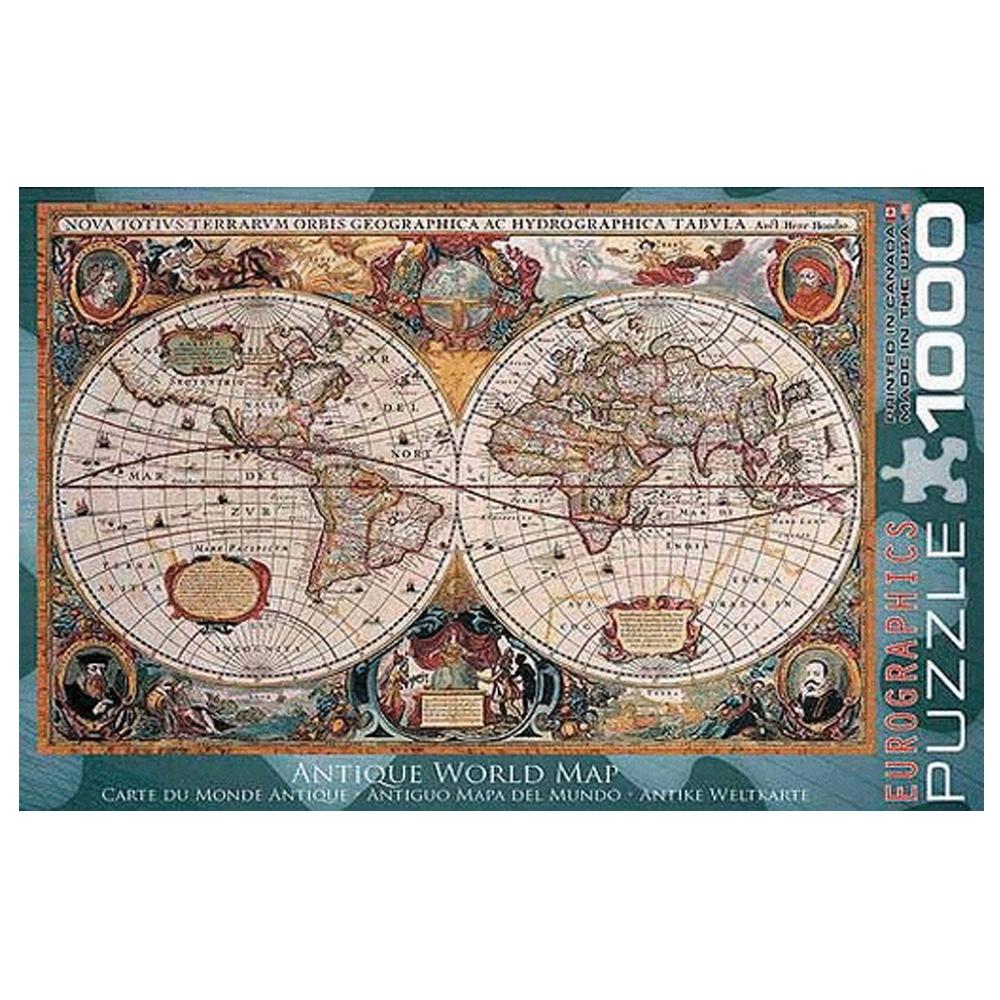 Cuy Games - 1000 PIEZAS - ANTIQUE WORLD MAP (ORBIS GEOGRAPHICA) -
