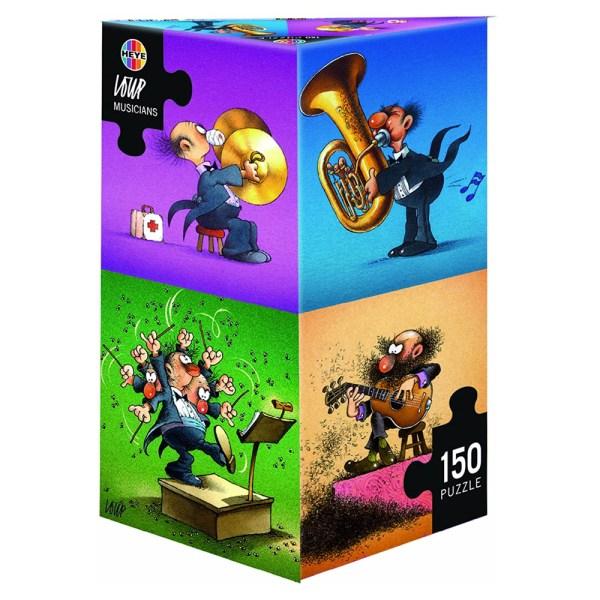 Cuy Games - 150 PIEZAS - MUSICIANS -