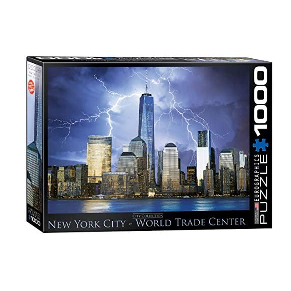 Cuy Games - 1000 PIEZAS - CITY COLLECTION-NY WORLD TCTR -