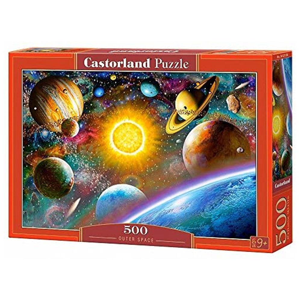 Cuy Games - 500 PIEZAS - OUTER SPACE -