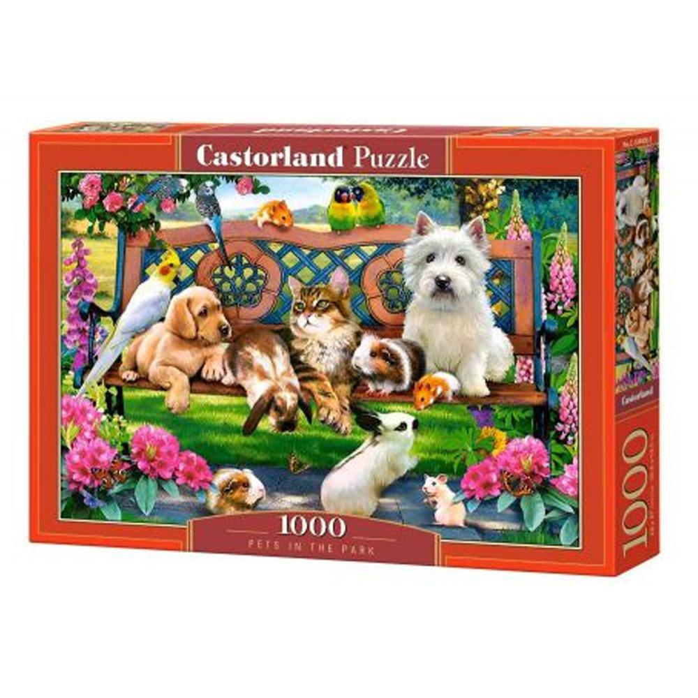 Cuy Games - 1000 PIEZAS - PETS IN THE PARK -