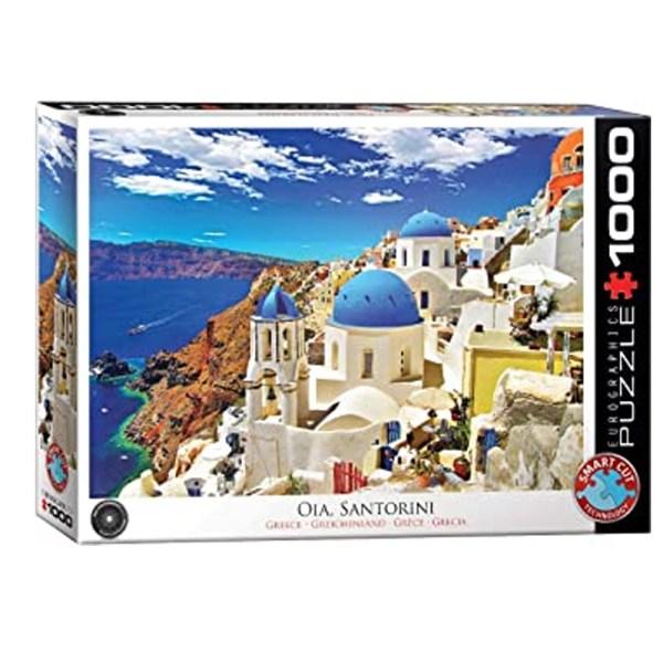1000 PIEZAS – SANTORINI GREECE ISLAND VIEW
